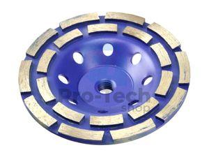 Diamantový brúsny kotúč 125x3xM14 segment 00349