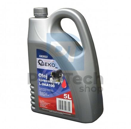 Olej do kompresora 5l 02627