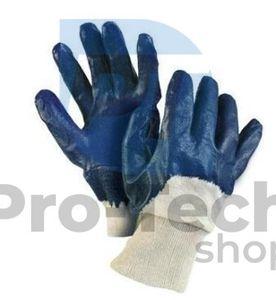 """Pracovné rukavice 10"""" blue 02464"""