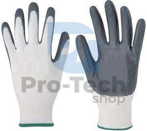 """Pracovné rukavice 10"""" grey 02455"""
