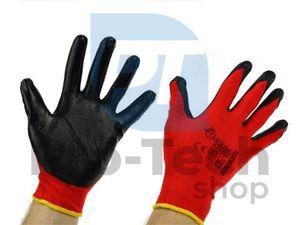 """Pracovné rukavice 8"""" Red Nitril 06594"""