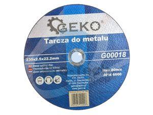 Rezný kotúč do kovu 230mm x 2.5mm x 22,2mm 00440