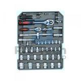 186 dielna sada náradia v kufri (račňové kľúče) 00646