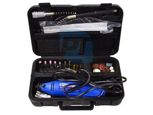 Mini priama brúska s príslušenstvom v kufríku 170W 06155