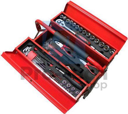64 dielna sada náradia v kovovom kufríku 01174
