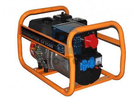Elektrocentrála BJC 3500 W 4-takt 230 / 400V AVR (generátor) 00797