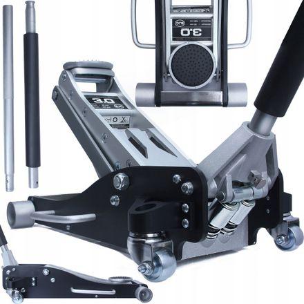 Pojazdný hydraulický zdvihák 3t 95-485mm Aluminium 14161